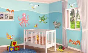 Stickers murali bambini cameretta sottacqua leostickers