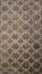brown contemporary area rug