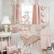 nursery interior sets for girls elegant decor pink and gold crib bedding furniture colors boygirl twins boys custom baby glenna jean girl chic vintage