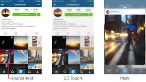 instagram profile iphone. Beautiful Iphone The Company Also Detailed How It Implemented Profile Peeks For Headers Or  Whenever Youu0027re Tagged In A Comment It Works Similarly To Postpeeks To Instagram Profile Iphone G