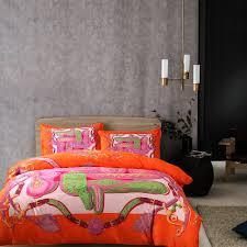 online get cheap modern orange bedding aliexpresscom  alibaba group