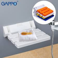 gappo wall mounted folding shower chairs