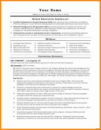 Entry Level Hr Resume Lovely Examples Of Human Resources Resumes