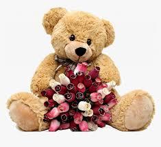 valentine s teddy bear png i happy