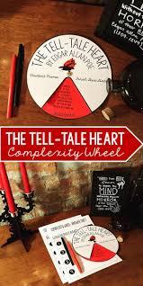 the tell tale heart by edgar allan poe complexity wheel heart the tell tale heart by edgar allan poe complexity wheel grades 6