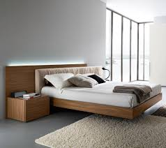homely and welcoming walnut platform bed  bedroom ideas