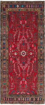 110cm x 260cm hamedan persian runner rug