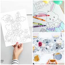 Free Easter Coloring Page Printables Pretty Providence