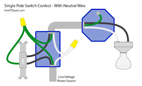switch with a neutral wire