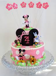 Mickey Mouse Clubhouse Cake Toppers Figurines And Minnie Wedding