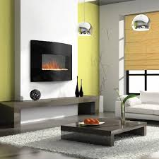 Wall Mount Electric Fireplace With Heater Lounge Pinterest