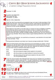 Great Fundraising Letter Example Fundraising And Non Profit