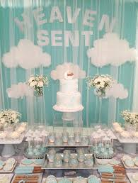 Karau0027s Party Ideas Thank Heaven For Little Girls Baby ShowerAngel Baby Shower Decorations