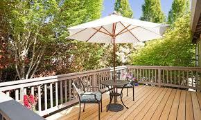 best outdoor umbrella stands hotel