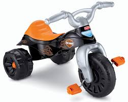 amazon com fisher price harley davidson tough trike toys games