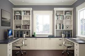 Alluring Home Office Furniture For Two People with Home Office Furniture  For Two People Chic And