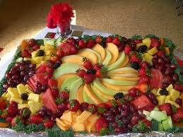 How To Decorate Fruit Tray Meyve Tabağı Resimleri Fruit displays Veggie tray and Food 5