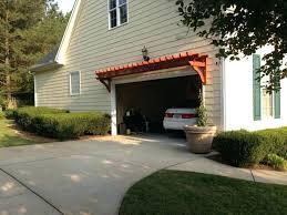 pergola over garage build plans wooden construction door designs gar