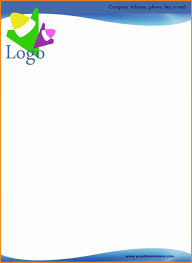 Sample Letter Head 026 Free Sample Letterhead Template Download Company Letter