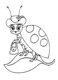 Ladybug Coloring Pages Chuckbutt Com