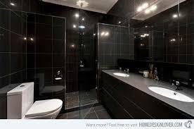 black bathroom. Simple Black West Preston Throughout Black Bathroom 3