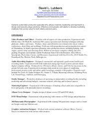 Studio Recording Engineer Sample Resume Audio Test Engineer Sample Resume 24 Cv Cover Letter 14