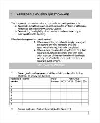 Surveys Questionnaires Examples Free 31 Survey Questionnaire Examples In Pdf Word Doc