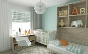 Light Blue Bedroom 3d Light Blue Bedroom With Crib 3d House