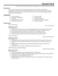 Data Entry Resume Objective Fresher Objective In Resume Objective Hr ...