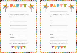 Online Printable Birthday Party Invitations Birthday Party Invitations Online Free Printable Birthday