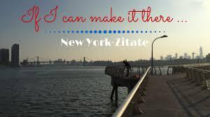 New York Zitate Deutsch