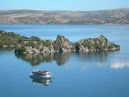 il Battello sul Lago Flumendosa - Sardegna