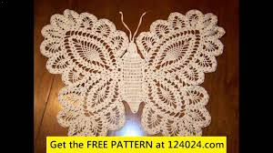 Youtube Free Crochet Patterns Cool Crochet Butterfly Free Patterns YouTube