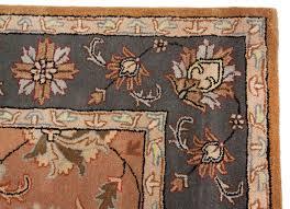 traditional area rugs beautiful persian orange grey handmade wool rug dining room wildlife rustic lodge for living leather western art deco