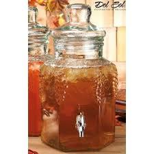 5 gallon glass drink dispenser with spigot best glass drink dispenser images on lemonade dispenser 5