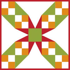 Free Barn Quilt Block Patterns   Tennessee Waltz – 9 inch block ... & Free Barn Quilt Block Patterns   Tennessee Waltz – 9 inch block – How to  Quilt Adamdwight.com