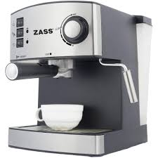 Espressor Manual Zass Zem 04 850 W 16 L 15 Bar Argintiu