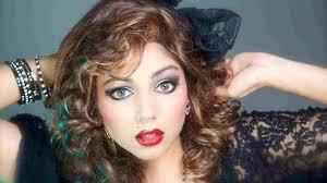 makeup looks rhin s tutorial the wedding tbt madonna like a virgin 80s makeup tutorial