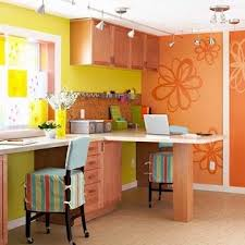 lighting craft room design. fine craft appealing home office colors  design ideas orange wall decor flower  find this pin and more on craft room lighting  to lighting room design f
