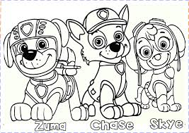 Secrets Free Kids Color Pages Paw Patrol Coloring Chase P Printable