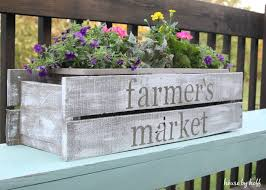how to make a pallet wood planter box5