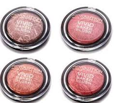 baked blush and bronzers