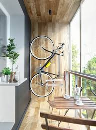 Small Balcony Apartment With Bike Rack