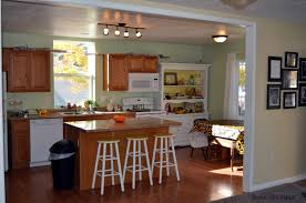 Beautiful Kitchen Remodeling On A Budget With New Cabinet Door And Low  Budget Countertop Design