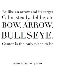 Archery Quotes Gorgeous Bow And Arrow Bullseye Quotes