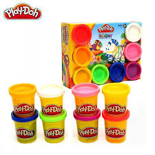 play doh creative diy 8 colors plasticine modeling clay children toy educational toys for kids multicolor free dealextreme