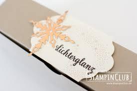 Verpackung Weihnachtsstern Sternenzauber Stampinclub