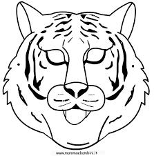 Tigre Da Colorare Per Bambini Az Colorare