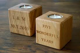 5th wedding anniversary gift ideas for him make me best wood anniversary gifts for her