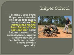 Marine Corps Scout Sniper Marine Scout Sniper By Jake Willeford Ppt Download